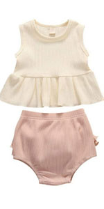 2PCS Baby Girls Sumemr Outfits