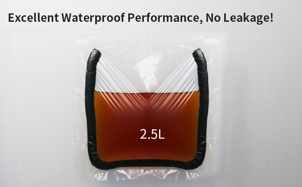 no leakage
