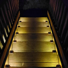 12Pcs Solar LED Deck Lights Outdoor Path Garden Stairs Step Fence Lighting Lamp