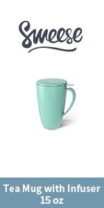 Tea infuser-mint green