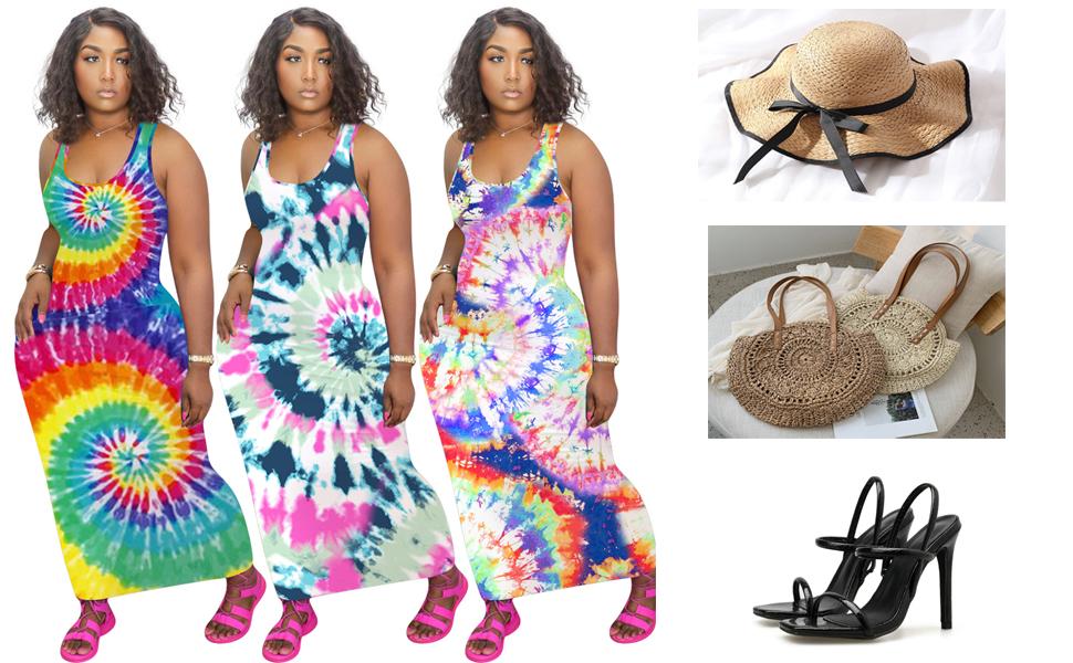 Elegant Maxi Dresses for Women Evening Club Party