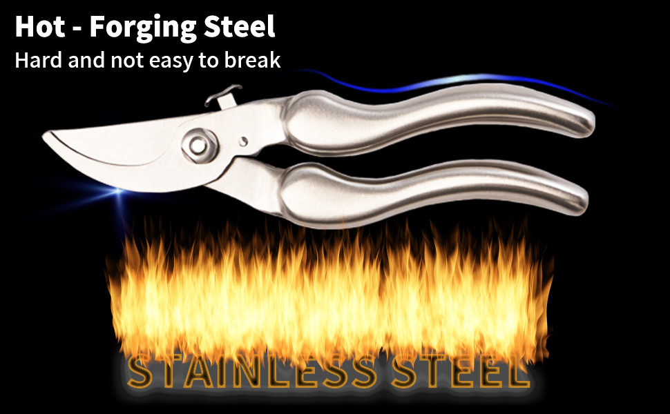 stainless steel shears