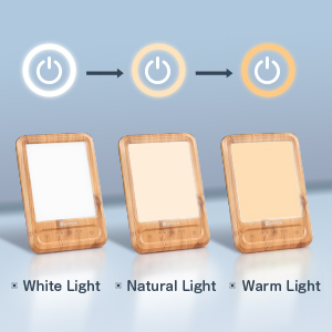 Three color Temperature Light