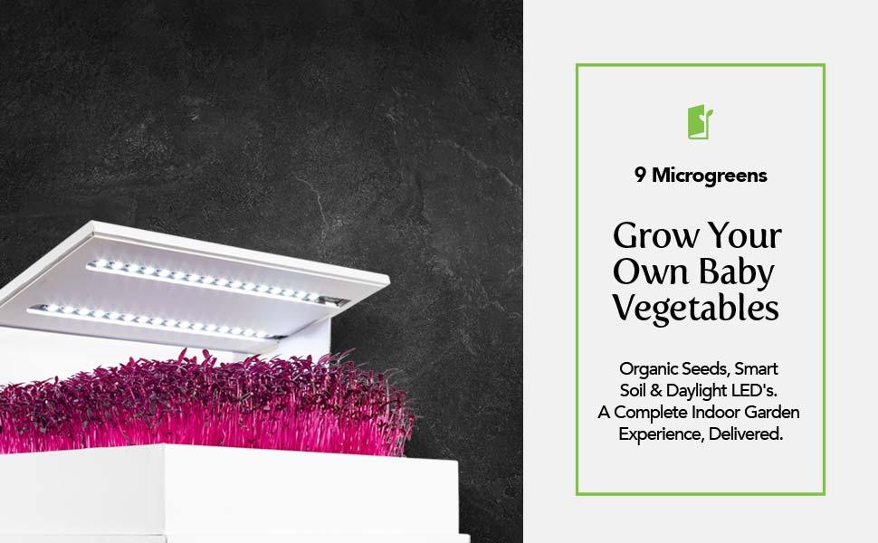 grow book indoor garden kit