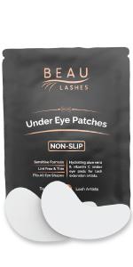 Beau Lashes Eyelash Extension Under Eye Pads For Professional Lash Artists