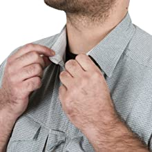 Non-rolling collar
