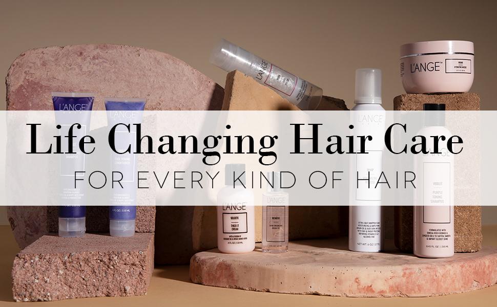 lange le reve straightener glaze hair gel color glaze hair styling lotion for women shine booster