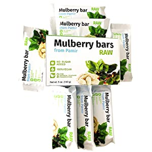 raw mulberry bars