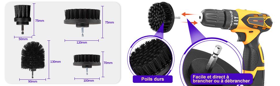 brosse de nettoyage electrique