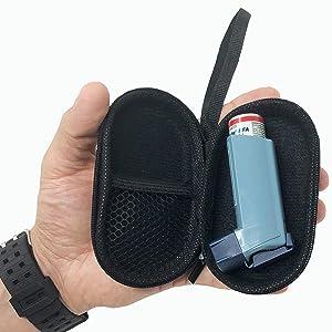 CGM Device Inhaler Protector Case Pouch Holster Cover Dexcom G4 Platinum MiniMed Paradigm Abbott