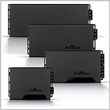 Die verschiedenen Endstufen aus der A-Serie von AXTON