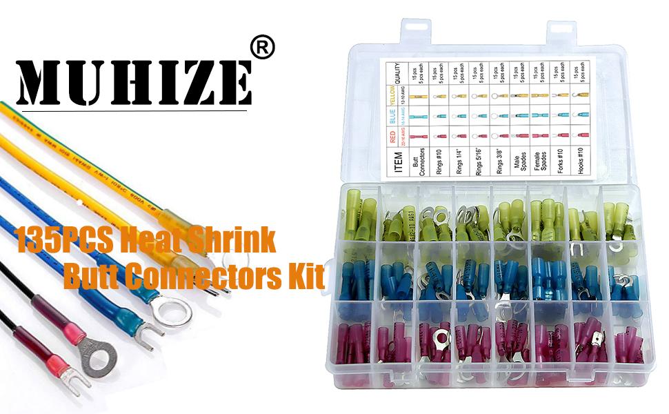 Heat Shrink Connectors Kit