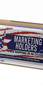 Marketing Holders Slatwall Business Card Holder
