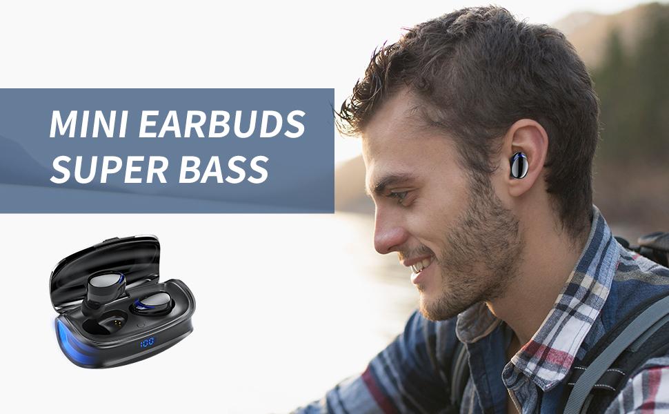 Mini Wireless Earbuds Super Bass