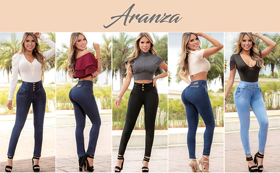 Pantalones Colombianos Levanta Cola Butt Lifting Colombian Jeans