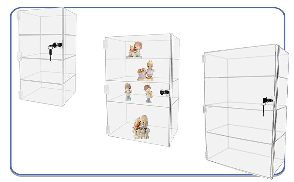 Marketing Holders Acrylic Locking Cabinets