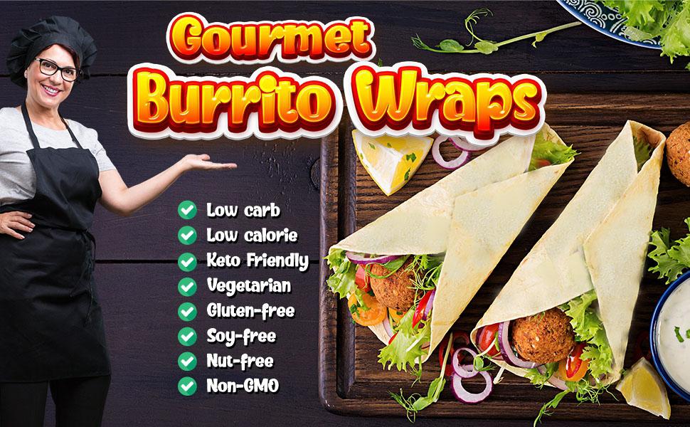 Gourmet Burrito Wraps