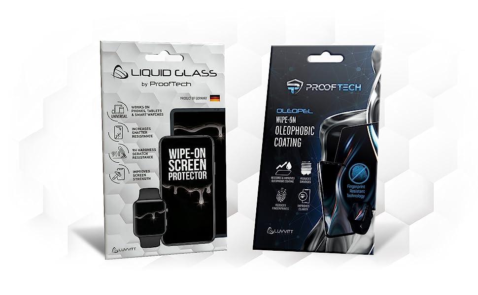 liquid screen protector oleophobic