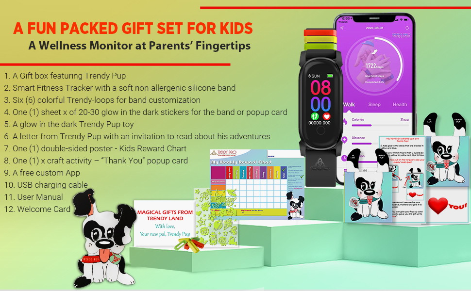 Kids Fitness Tracker digital watch Fitness Tracker Kids Watch for Kids - Kids Watches Kids Smart