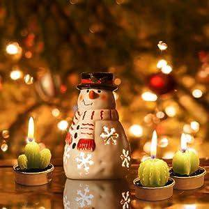seasonal decorative candles