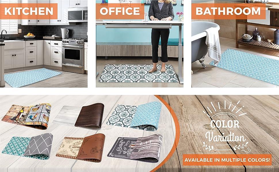 Foam Floor Comfort mat for kitchen office bathroom home