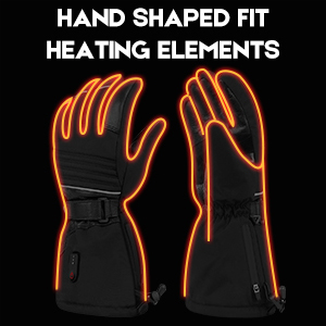 heated glove fit perfect