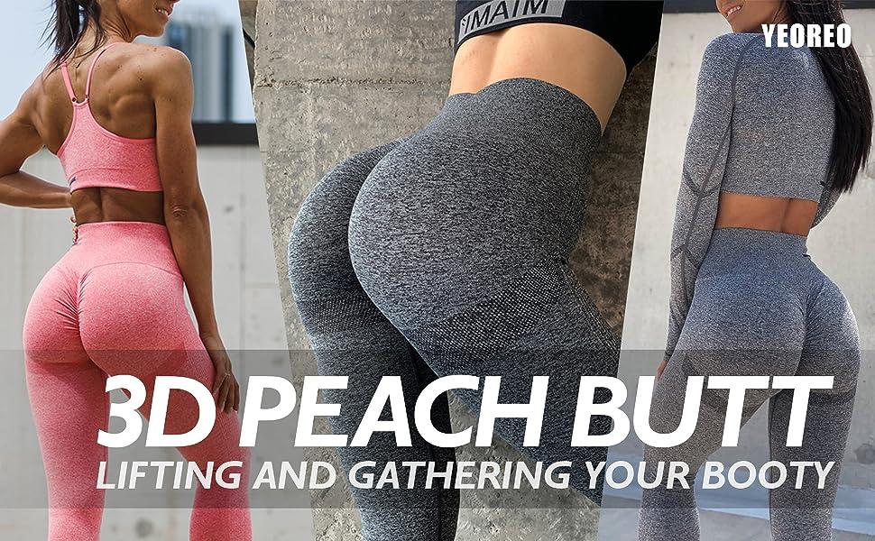 3D peach butt