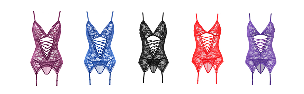 womens lingerie with five color