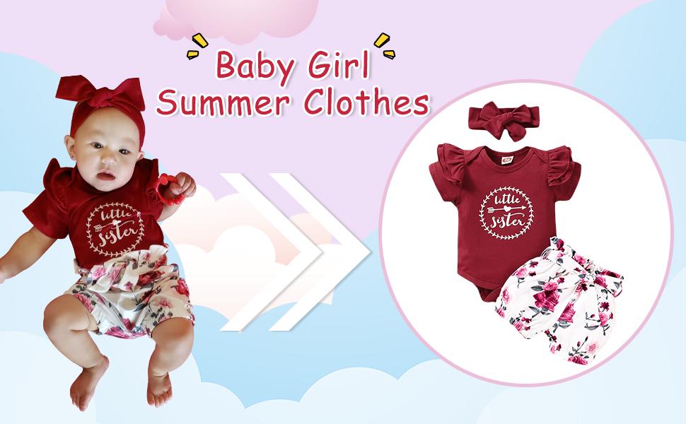 Baby Girl Short Set