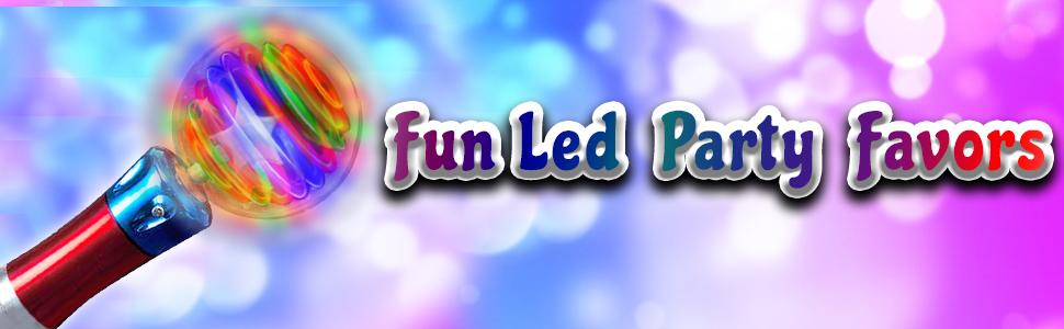 fun led party favors