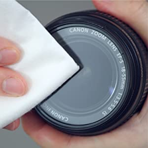 lens cleaning no lint, facial wipes