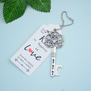 key bottle opener wedding gifts