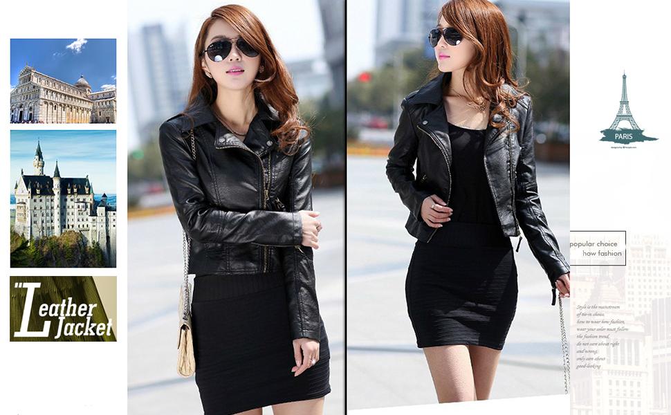 mujer chaqueta delgada