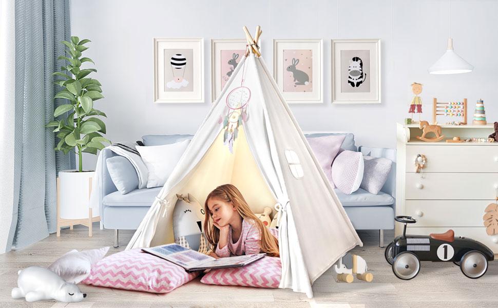 kids tent indoor