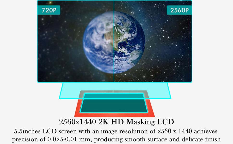 2k lcd screen