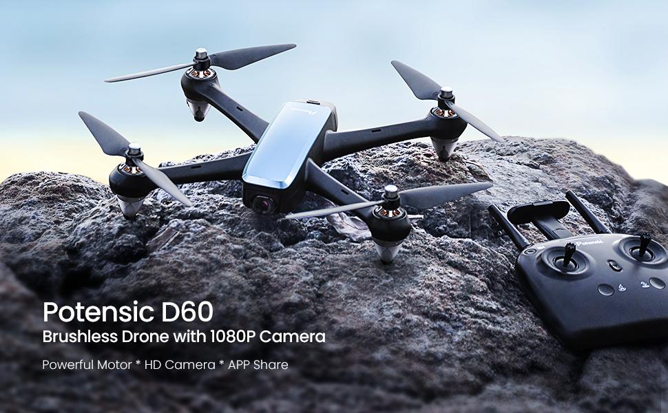 Potensic D60 gps drone