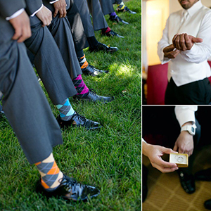 Groomsmen Dress Socks Wedding Dress Socks Colorful