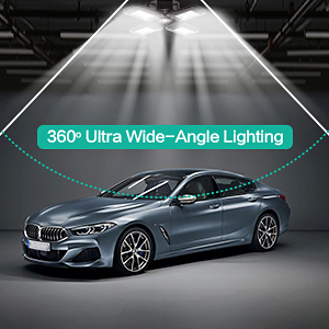 beyond bright garage light