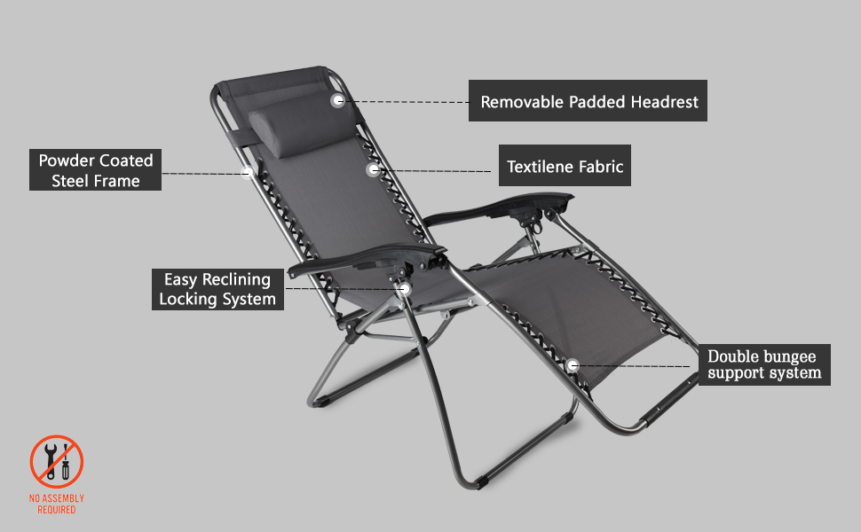 Recliner chair outdoor chair