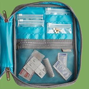 travel case for prescription medications