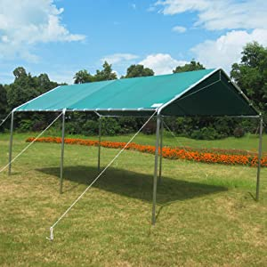 Amazon Com Quictent 10x20 Ft Upgraded Heavy Duty Carport