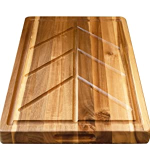 Cutting Board Drip Grooves