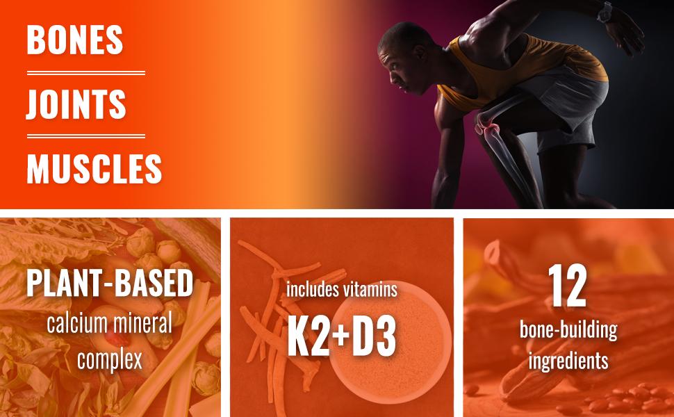 bone health vegan supplement
