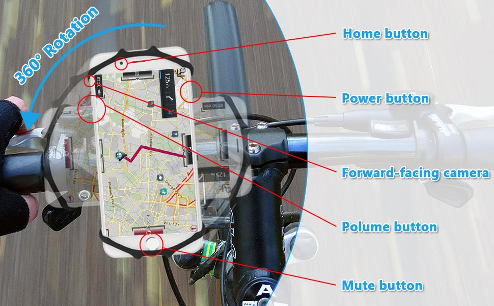 cycling phone holder