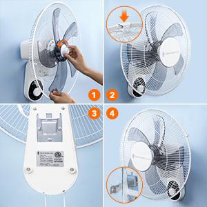 wall fan