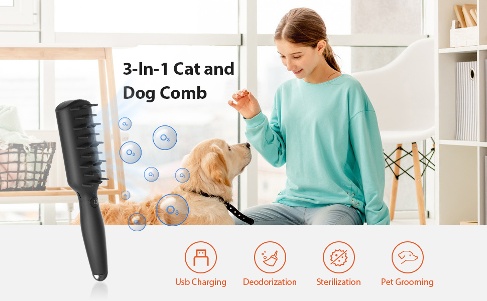 Cat and dog pet comb
