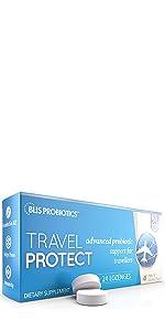 Blis Probiotics Travel Protect