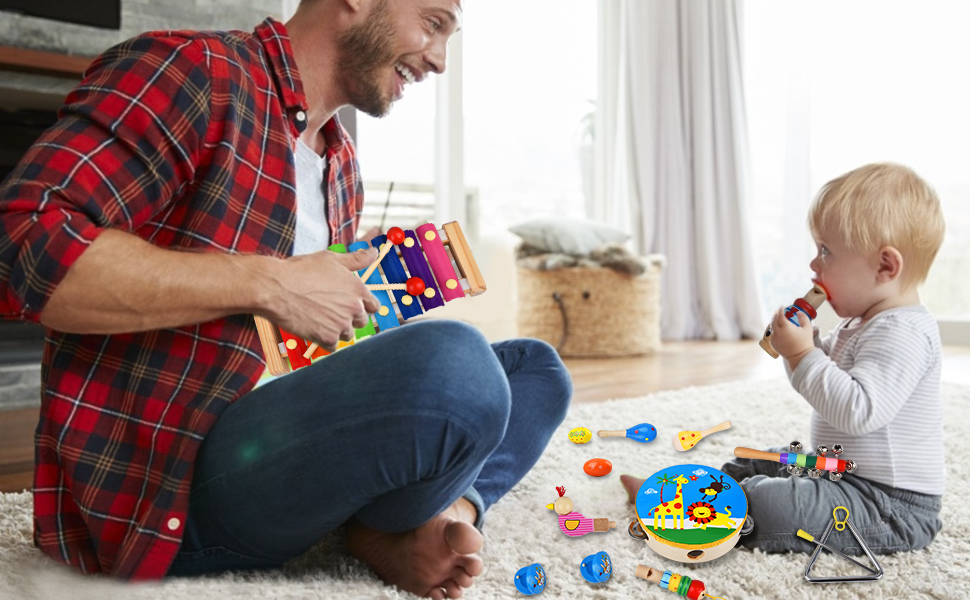musical toys for toddlers 1-3 kids instruments toddler preschool baby toy children educational