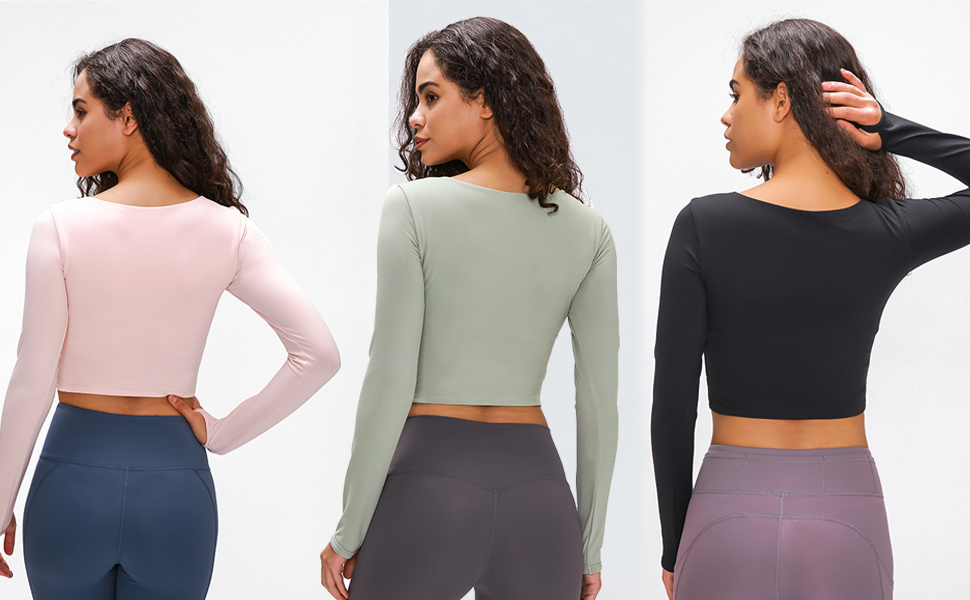 workout crop tops for women