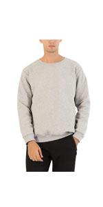 Fleece Sweatshirt Crewneck Pullover Tops